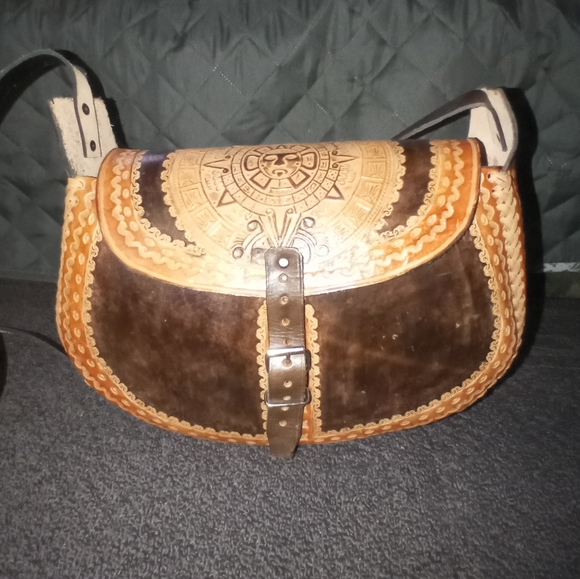 Leather purse from mexico